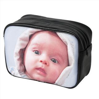 mens photo washbag