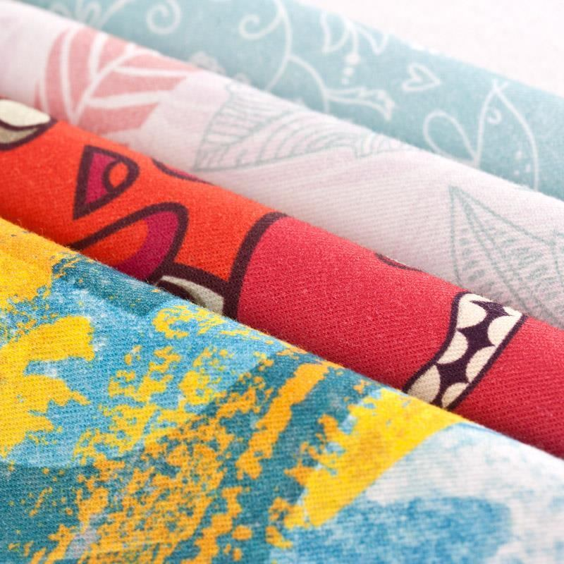100 Cotton Print Fabric With Your Design In London Bags