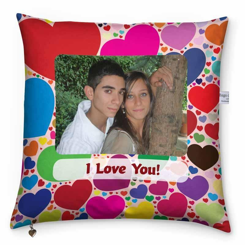 valentines day cushion me hearty