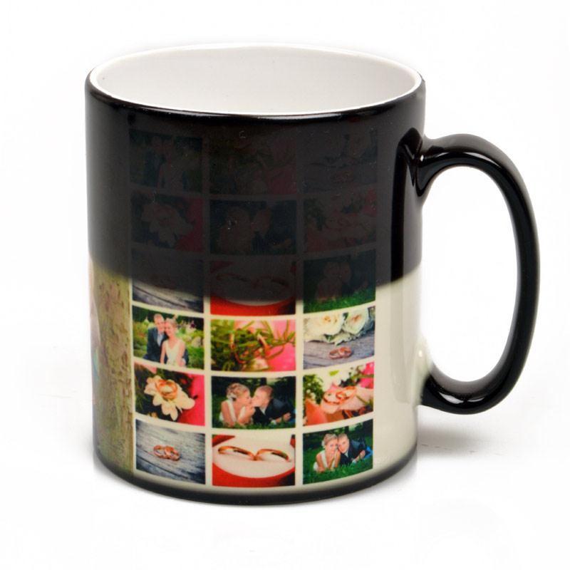 Personalised Heat Change Mug. Custom Heat Sensitive Mug