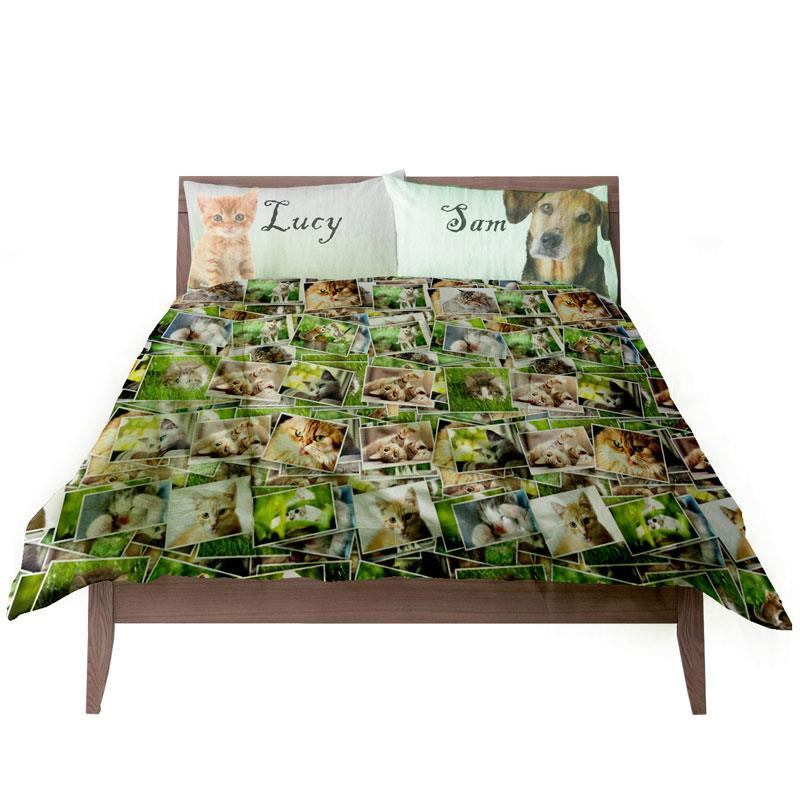 Personalised Duvet Covers and Pillow Cases. Custom Bedding.
