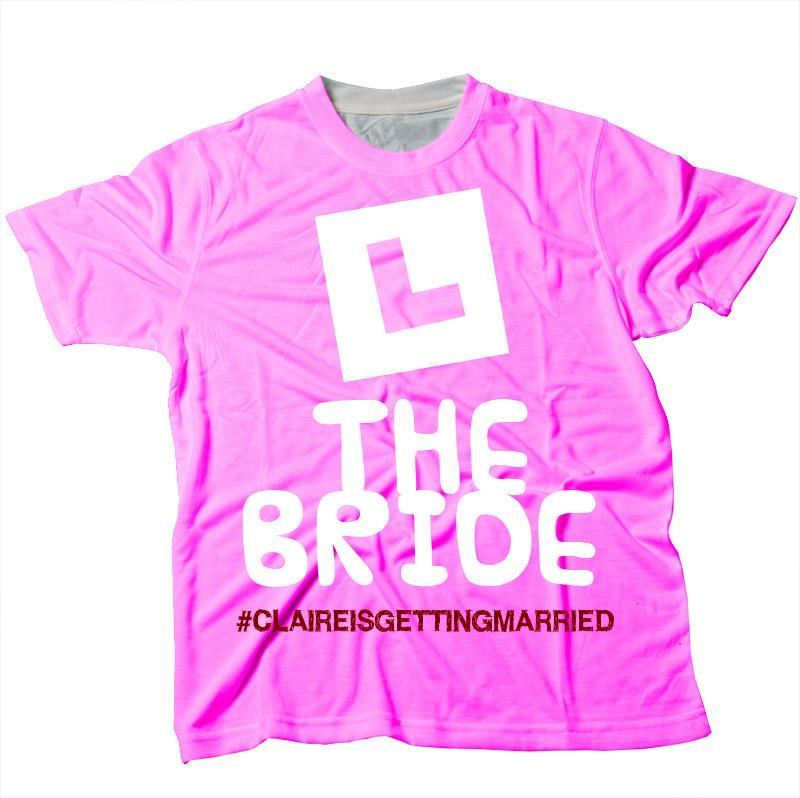 b815f36c Personalised Hen Party T Shirts. Personalised Hen T Shirts