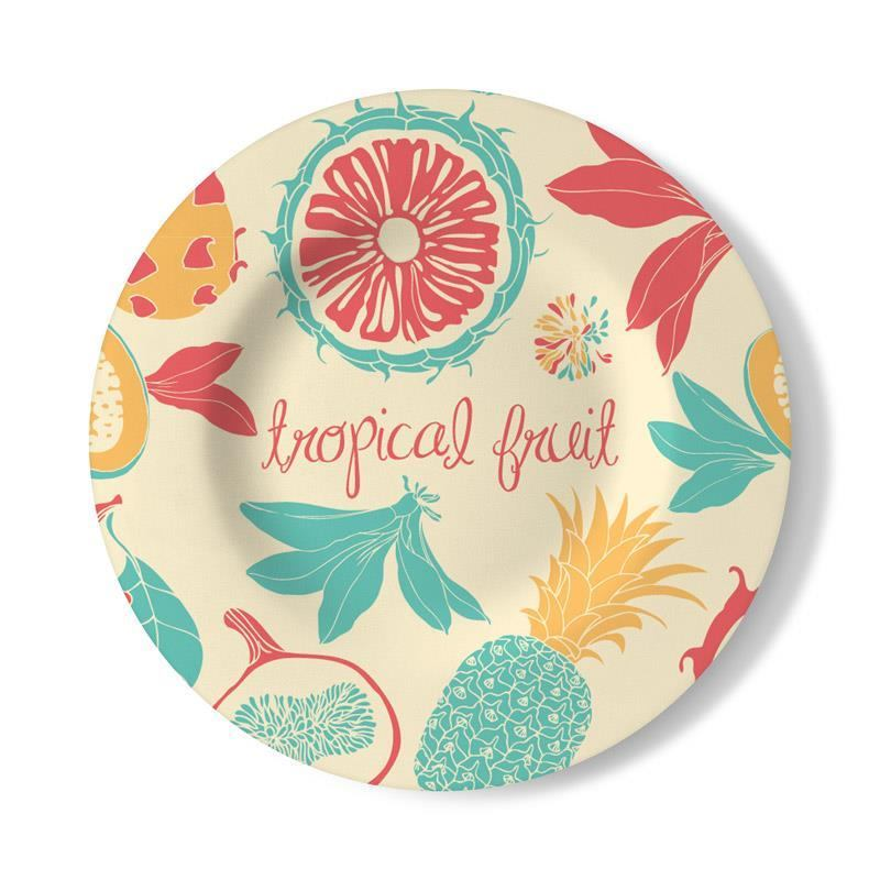 Wall Plates Home Decor : Personalised decorative wall plate for home decor bags