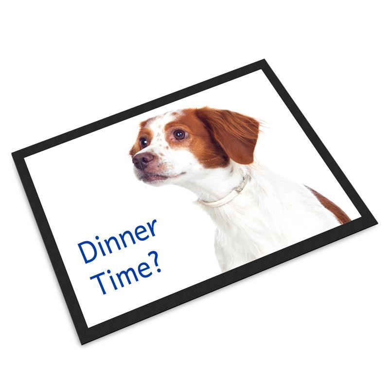 Pet Mats Personalised With Photos And Text By Bags Of Love