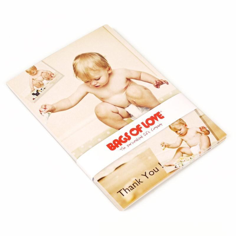 Baby Gift Cards Uk : Personalised postcards photo thank you