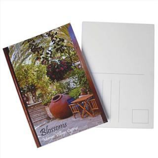 personalised hotel stationary photo postcard