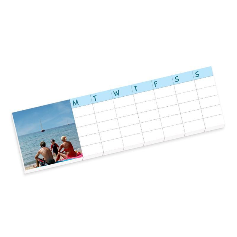 Weekly Refrigerator Calendar : Custom weekly planner calendar pack of three