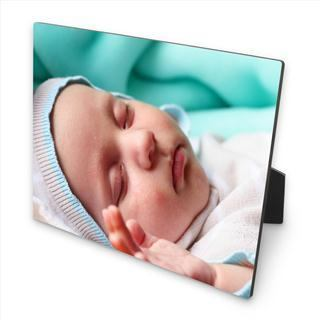 rectangle wooden photo block
