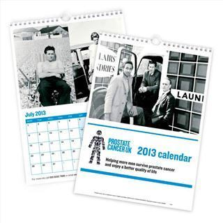 prostate cancer charity personalised calendar 2013 l